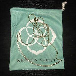 """Kendra Scott """"Scottie"""" Choker in Gold"""